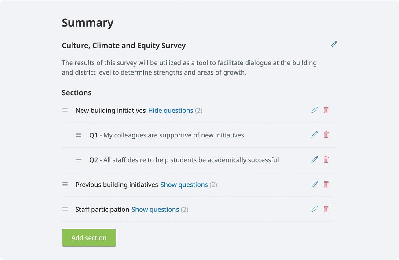 Satchel Pulse survey set-up