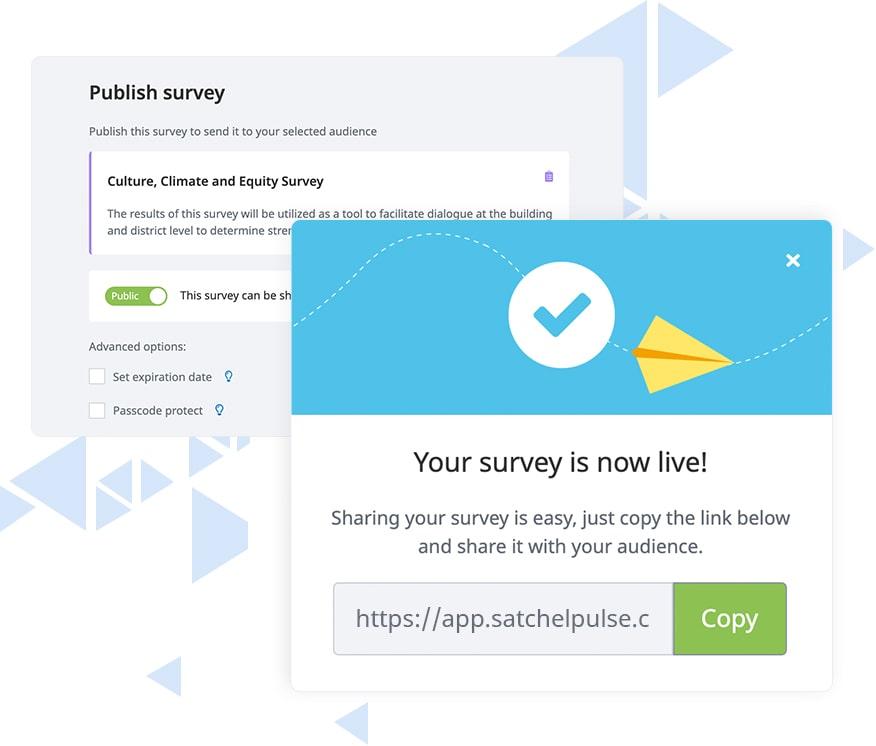 Satchel Pulse public surveys
