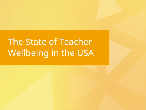 The State of Teacher Wellbeing in the USA infographic