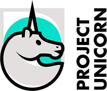 Image of the logo for Project Unicorn